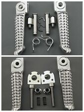 1999-2011 Yamaha YZF R1 YZF R6 Front & Rear Footrest Foot Pegs 1999-2011