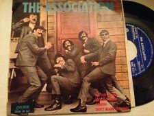 """THE ASSOCIATION SPANISH 7"""" SINGLE SPAIN EP PROM0 NO FAIR AT ALL"""