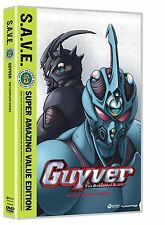 Guyver . The Bioboosted Armor . The Complete Series . Anime . 4 DVD . NEU