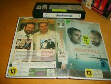 "VHS * Awakenings * 1990 First Release Issue Drama ""A Film you soon won't forget"""
