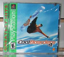 Cool Boarders 4 Playstation PS1 Brand New Sealed!