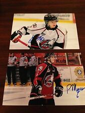 Jeremy Lauzon SIGNED 4x6 photo ROUYN NORANDA HUSKIES / BOSTON BRUINS