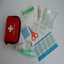 Red Color Economical Medical Emergency Survival Bag First-aid kit For Outdoor