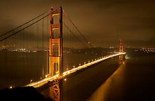 Framed Print - Golden Gate Bridge San Francisco California (Picture Poster Art)