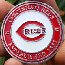 PREMIUM MLB Cincinnati Reds Poker Card Protector Collector Coin Golf Marker