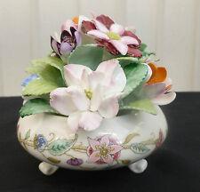 Minton Bone China Haddon Hall Hand Made Flower Bowl New Unused Beautiful.