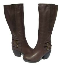 Women's Knee High Fashion BOOTS Hoshi-12 Brown Winter Snow shoes Ladies size 11