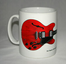 Guitar Mug. Eric Clapton's Gibson ES-335 Cream Guitar illustration.