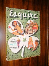 ESQUIRE MAGAZINE MARCH 1959 ESQUIRE GIRL BEN STAHL AL MOORE FAITH BALDWIN