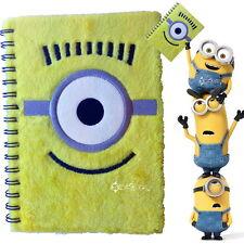 CATTIVISSIMO ME PORTABORSE A5 PELUCHE Notebook Scuola Nuovo Regalo