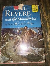 PAUL REVERE AND THE MINUTE MEN  Dorothy Canfield Fisher Hardback 1950