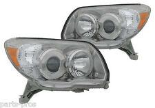 New Replacement Headlight Assembly PAIR / FOR 2006-07 TOYOTA 4RUNNER SPORT