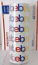 "Six (6) Rolls eBay Branded Logo BOPP Shipping Tape 75 yard x 2 "" Priority Mail"