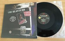 "LP VINYL 12"" THE BLASTERS OVER THERE: LIVE AT THE VENUE LONDON 1982 PRINTED USA"