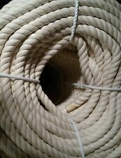 "3/4"" x 50' 100% Cotton Rope Great for Bird Toys"