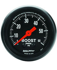 "Auto Meter Z-Series 0-60 Psi Mechanical Boost Gauge 2-1/16"" (52mm)"