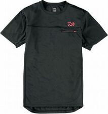 Daiwa Short sleeve shirt DE-8305 XL(LL)size Black