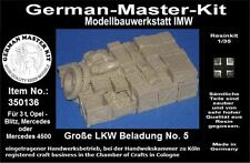 350136,Ladegut, 1:35, Große LKW Beladung No. 5b, Resin, GMKT World of War II