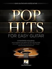 Pop Hits for Easy Guitar by Hal Leonard Corp.