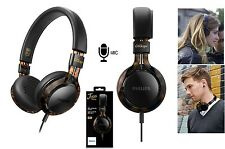 PHILIPS FRAMES TORTOISE SHELL HEADPHONES w/ MIC CITISCAPE HIGH PRECISION HEADSET