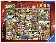 Ravensburger puzzle Noël * 1000 t * Colin thompson * the Christmas Cupboard * rar
