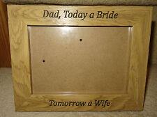 CORNICE Fotografica 7x5 inciso per foto di nozze