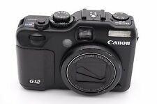 Canon PowerShot G12 10.0 MP Digital Camera - Black