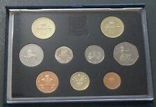 1989 Royal Mint UK Proof Coin Set includes Bill & Claim of Rights £2 coin