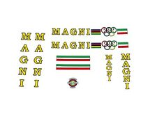 Magni  Bicycle Decals, Transfers, Stickers n.50