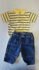 3-6 Month Jeans Outfit Baby Boy Infant Short Sleeve Spring Winter Jeans