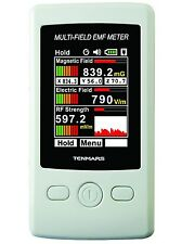 3 Axis EMF Meter Electromagnetic & Electric & RF Strength Field 3in1 Test TFTLCD