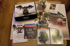 WITCHER 3 - WIEDŹMIN  COLLECTORS BOX + Steelbook + Stamp + envelope + booklet