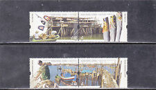 HONG KONG , CHINA SET FISHING VILLAGES PORTUGAL JOINT ISSUE ON  (2005) MNH
