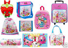 OFFICIAL SHOPKINS BACKPACK,SHOULDER BAG,SHOPPING TROLLY RUCKSACK, GYM BAG,WALLET