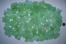 BEACH SEA GLASS SURF TUMBLED SEAFOAM LOT OVER 200 PIECES