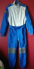 OMP TECNICA Italy Kart Racing Rally Suit Size 48 Blue, Made with Dupont Cordura