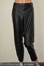 Pantalon noir simili cuir BODYFLIRT T 48