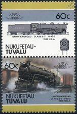1936 Union Railroad Class S-7 0-10-2 (URR Pitsburgh)  Train Stamps / LOCO 100