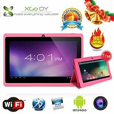 "XGODY 7"" inch Quad Core HD 1024*600 2Camera Android 4.4 Kids Children Tablet PC"