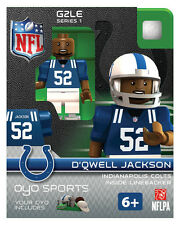 D'Qwell Jackson OYO Indianapolis Colts NFL Football figure LEGO Compatible g2