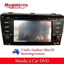 "7"" Mazda 3 GPS CAR DVD GPS Player 2004-2010 Navigation usb bluetooth head unit"