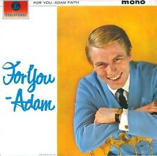 ADAM FAITH For You Vinyl Record LP Parlophone PMC 1213 1963 EX Orig 1st Pressing