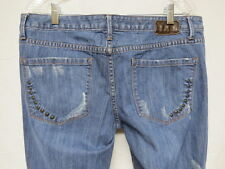 Converse One Star Sheridan Skinny Distressed Jeans Size 29X31.5
