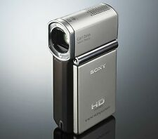 SONY HANDYCAM HDR-TG3E CAMCORDER BOXED HD MEMORY STICK HIGH DEFINITION & CASE