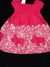 NWT Gymboree 3T, Girls Flower Bazaar Pink Top Dress