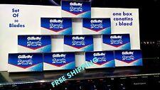 50 blades FREE SHIPPING WORLDWIDE GILLETTE WILKINSON SWORD Safety RAZOR BLADES