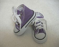 "Fits 16"" Sasha or Gregor Doll - Purple High Top Sneakers - Shoes - D1292"