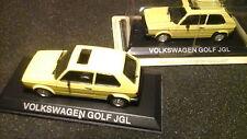 IXO Volkswagen Golf 1 JGL 1:43 gelb VW Golf I
