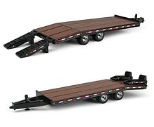 NEW 2016 *FIRST GEAR* 1:50 BEAVERTAIL TRAILER *BLACK* Diecast *NIB!*