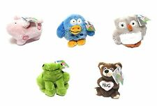 Our Name Is Mud (ONIM) beanbags with a meaning - Complete set of 5, NEW by Gund!